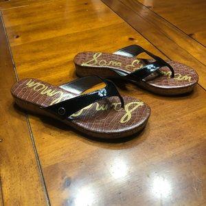 Sam Edelman Tanya Black Sandals Size 8.5 NWOB